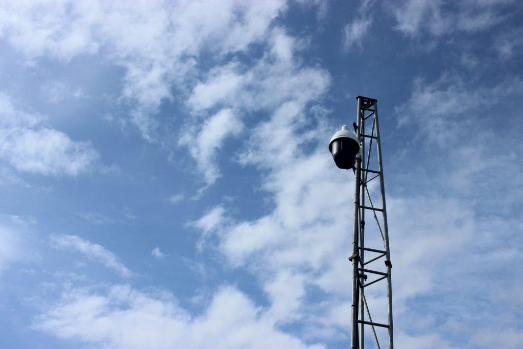 Construction Site CCTV Camera system