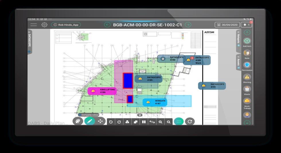 digital DABS - construction planning software