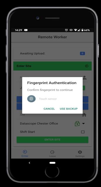 Remote Worker Clocking App