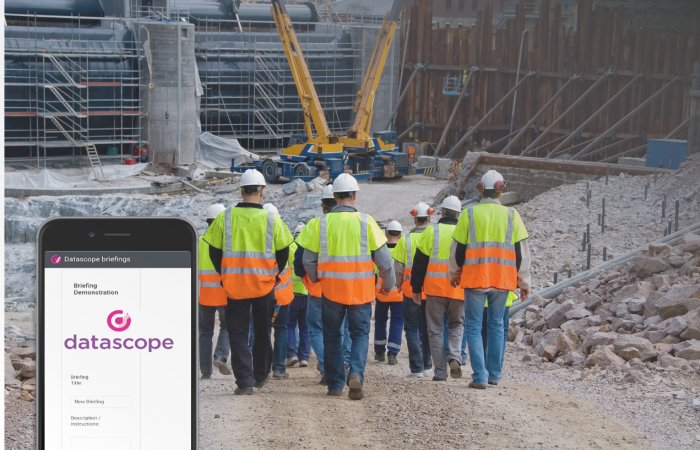 Briefings Platform for the construction industry