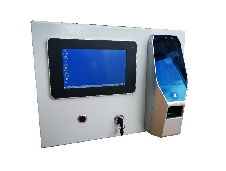 touch-free Facial Recognition & Thermal Access Control