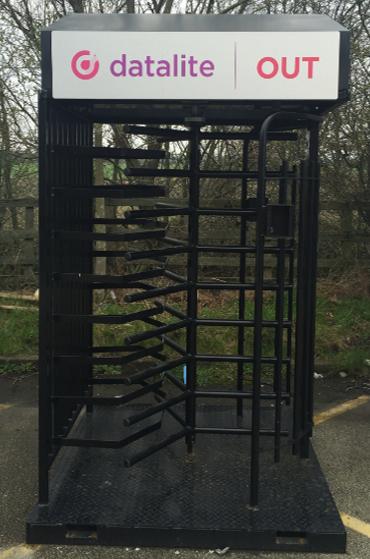 turnstile for construction site