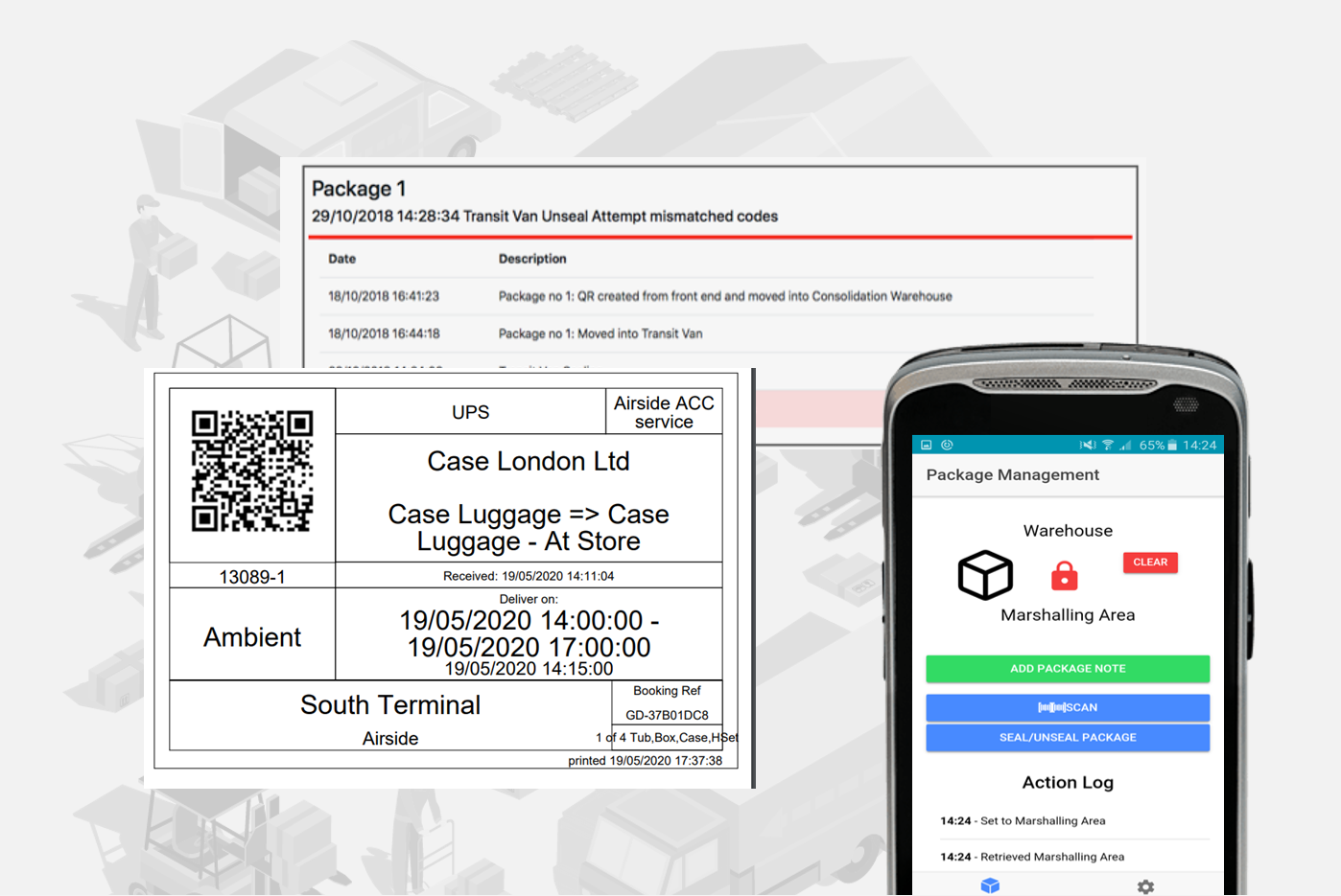 Logistics Tracking App